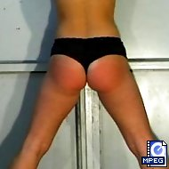 An OTK spanking is the least of what Lia has to endure. Don`t miss the bullwhip scene