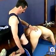 Busty babe spanked and humiliated in the exercise room