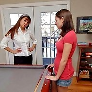 Courtni Kissell spanked to tears for not doing chores: Discipline Tutor strikes back!